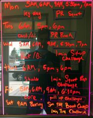 Get Fit Together May - 2019 Fitness Schedule