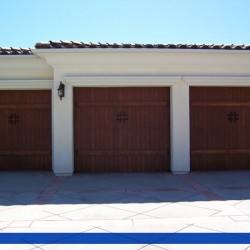 Wood and Iron doors From G&G Garage Doors
