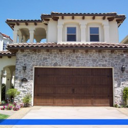 Old world charm and new world materials from G&G Garage Door
