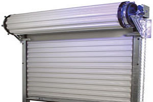 Super tough steel roll up commercial doors from G&G Garage doors