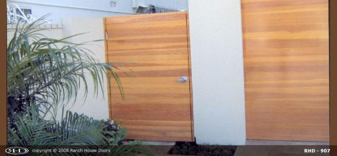 Matching gates from G&G Garage Door