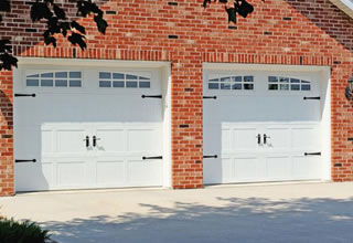 Charming details highlight G&G Garage Doors