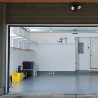 Clean Lines accent your organization with doors by G&G Garage Door