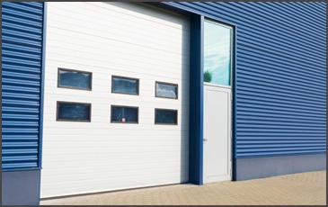 Commercial door installation by G&G Garage Doors