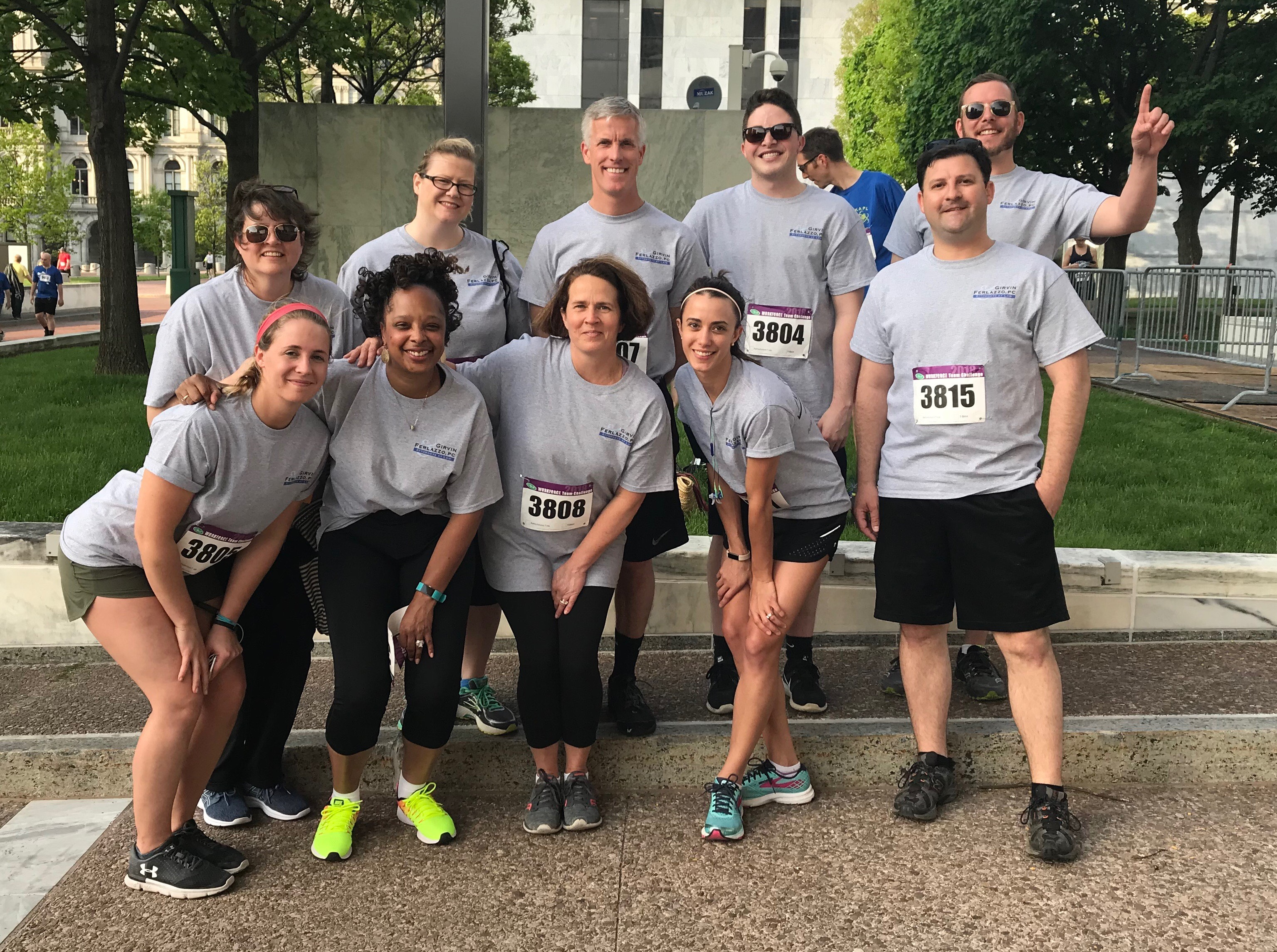 Local attorneys from Girvin & Ferlazzo participate in CDPHP Workforce Team Challenge