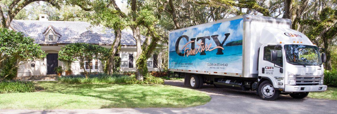 City Furniture Truck