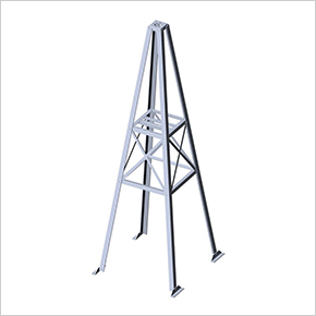 Radio Tower For Sale Roof Antenna Rooftop Tower