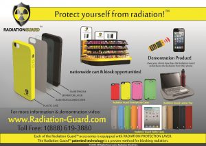 A new product design for a radiation guarding case