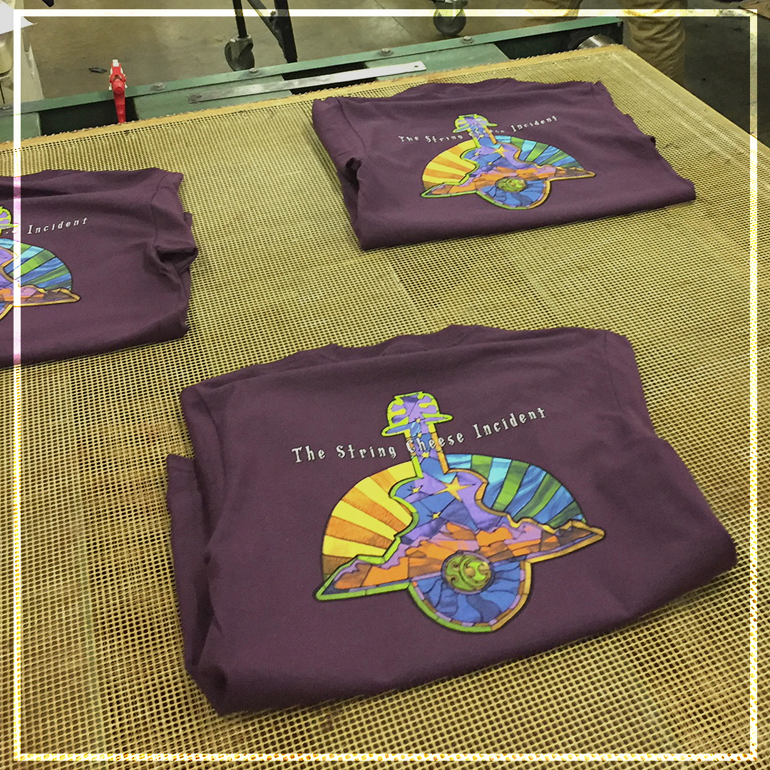 Goodbye Blue Monday String Cheese Incident T-shirts