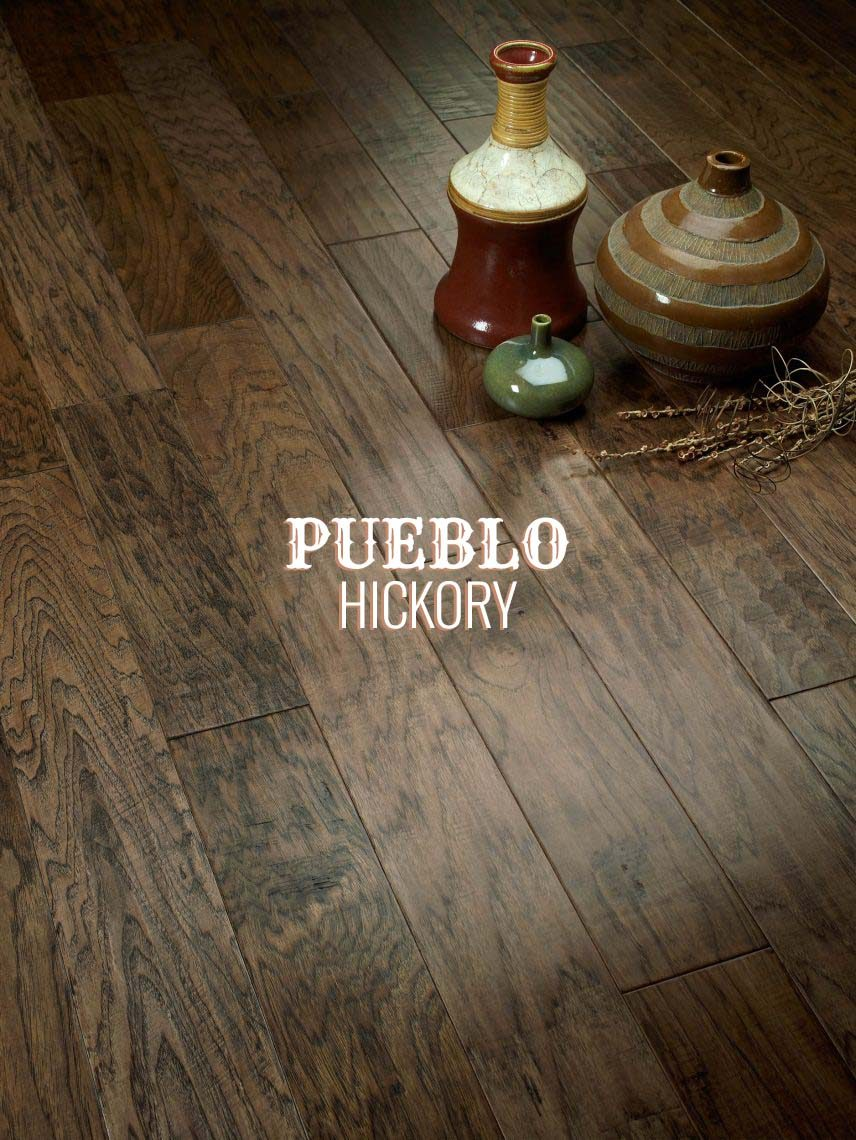 The Ponderosa Collection Choose Hand Scraped Hickory
