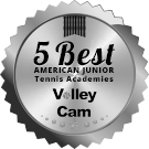 Icon graphic of Gorin tennis award for 5 best junior tennis academies