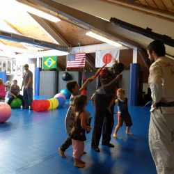 martial arts birthday party for kids