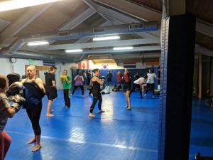 kickboxing classes at Infinity Martial Fitness