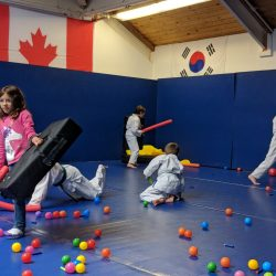 the best martial arts fitness birthday party ever