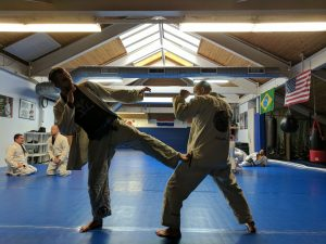 muay thai training in Hanover