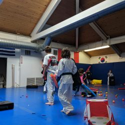 a great martial arts fitness birthday party