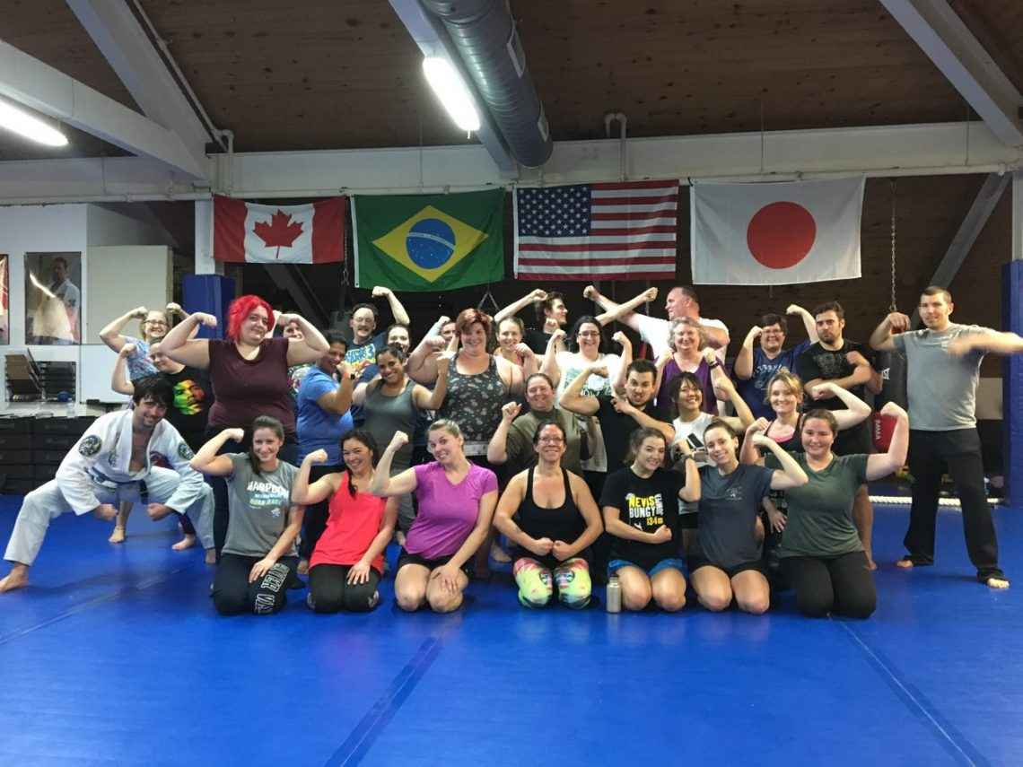 fitness bootcamp class at Infinity Martial Fitness