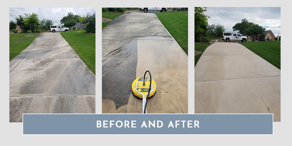 Pressure Washing Services - Concrete In Fort Worth | Great American