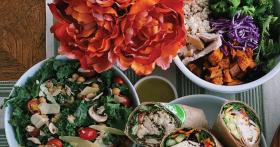 kale salad, wraps and more salad