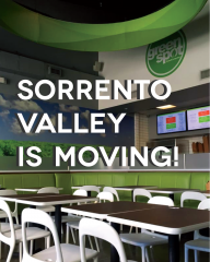 Sorrento Valley is moving