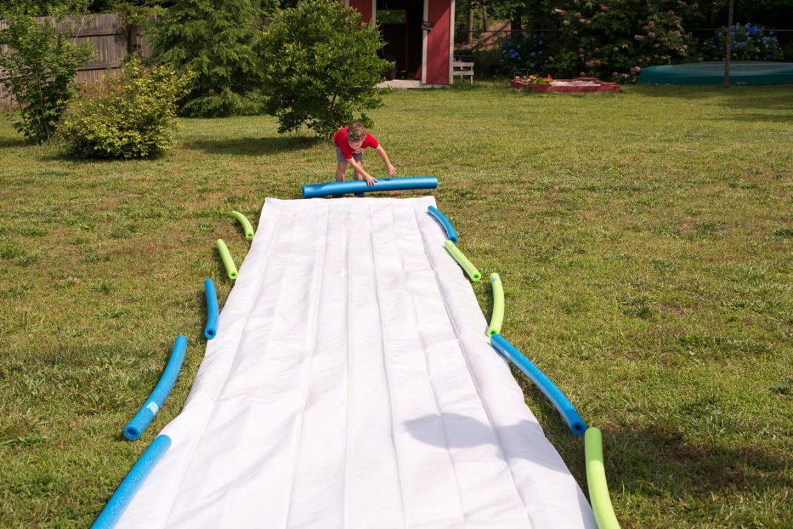 slide backyard