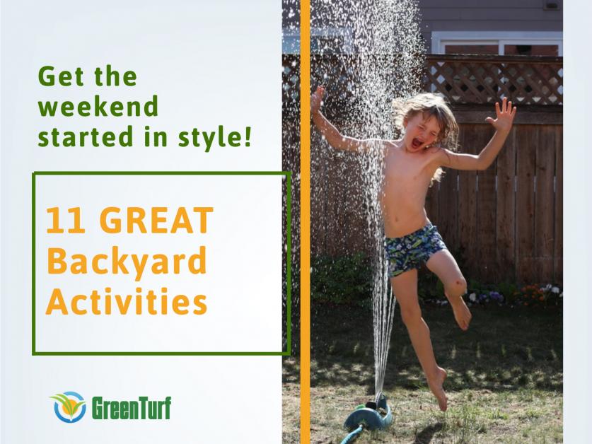 backyard activities summer