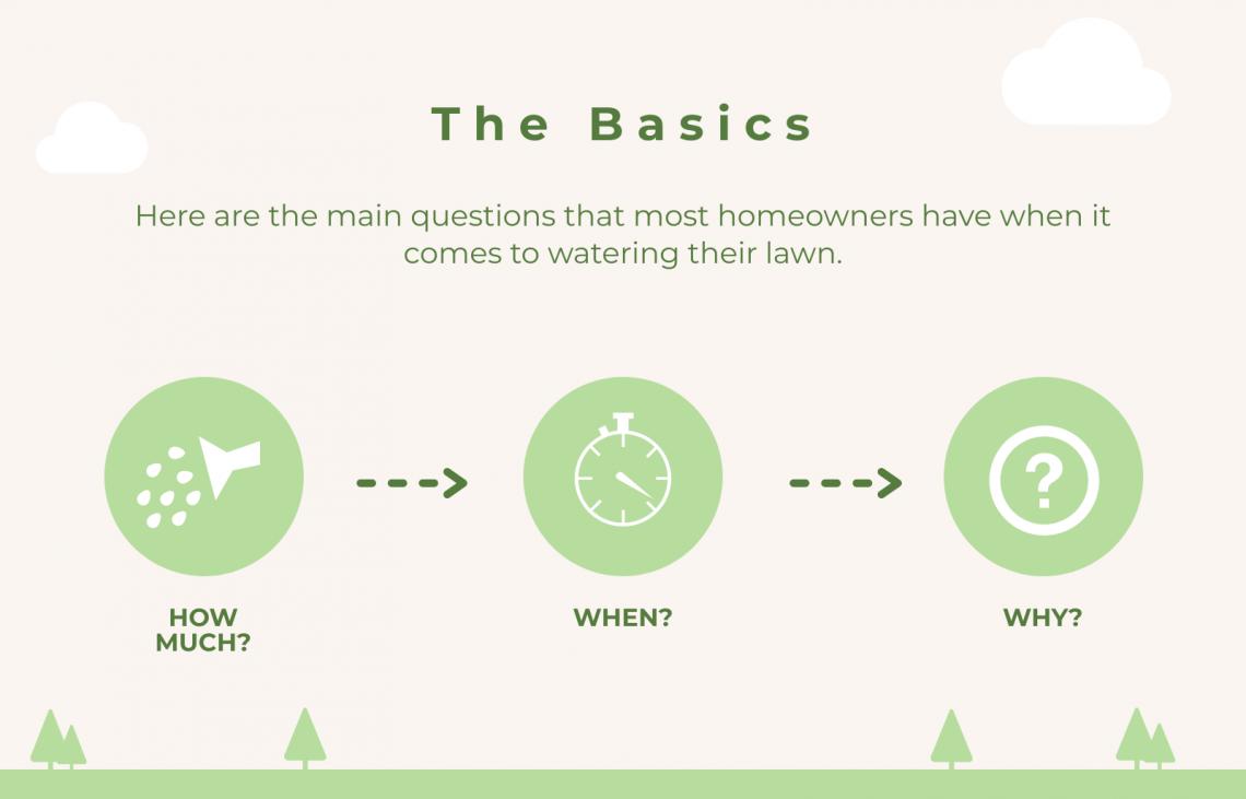 basics lawn watering