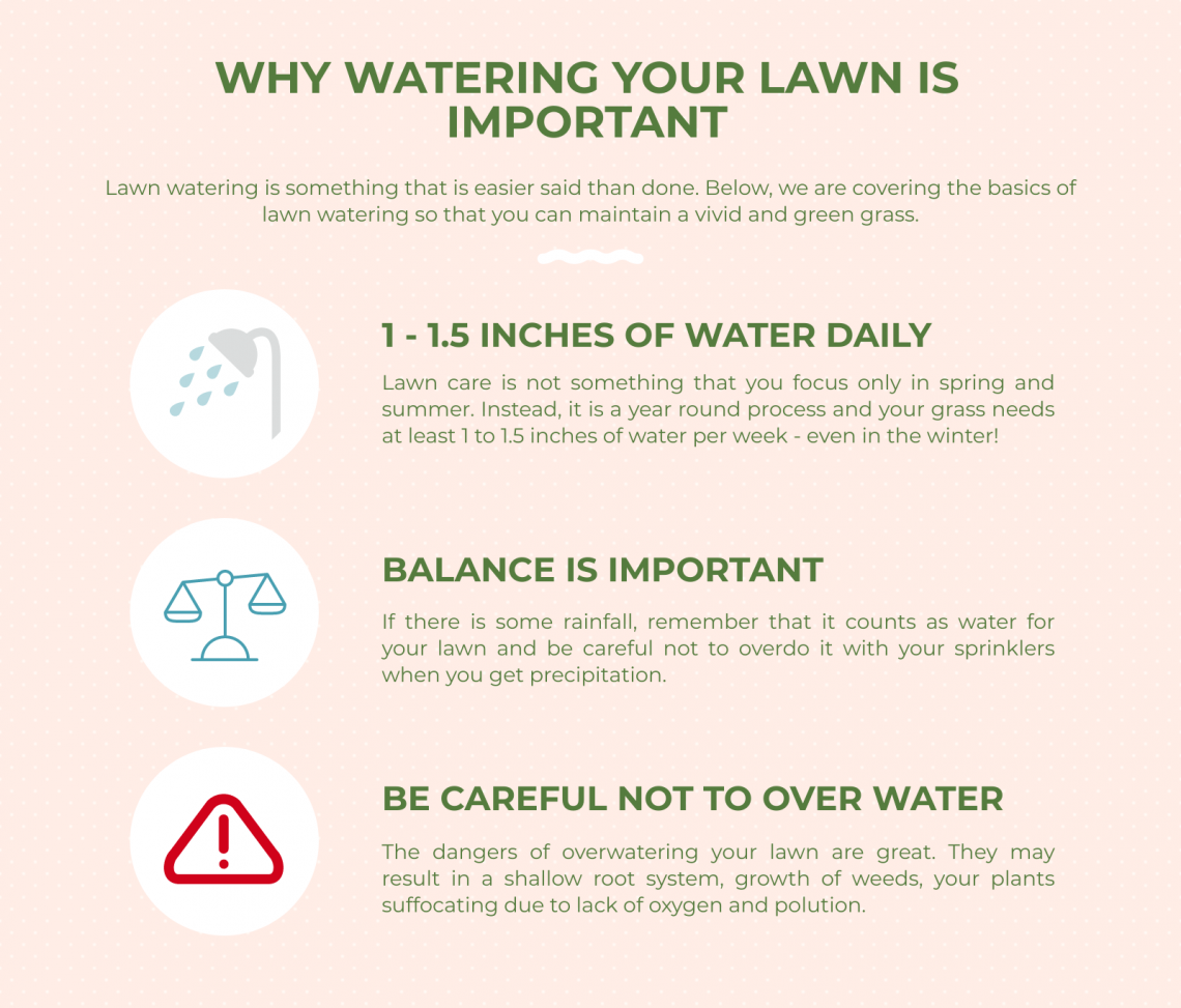 lawn watering important
