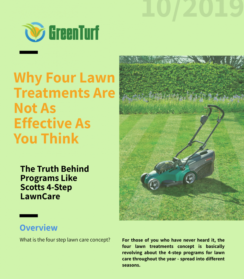 why four lawn treatments