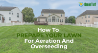 prepare your lawn for aeration and overseeding