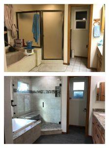 Recent Bathroom Remodel Before And After Greg Kohler