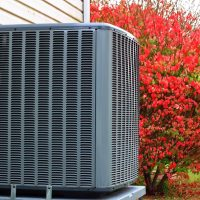 New Condenser Unit Outside Home