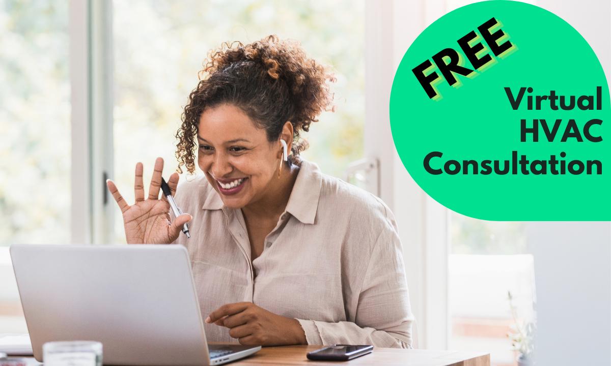 Free Virtual HVAC Consultation - Remote HVAC Technician Meeting