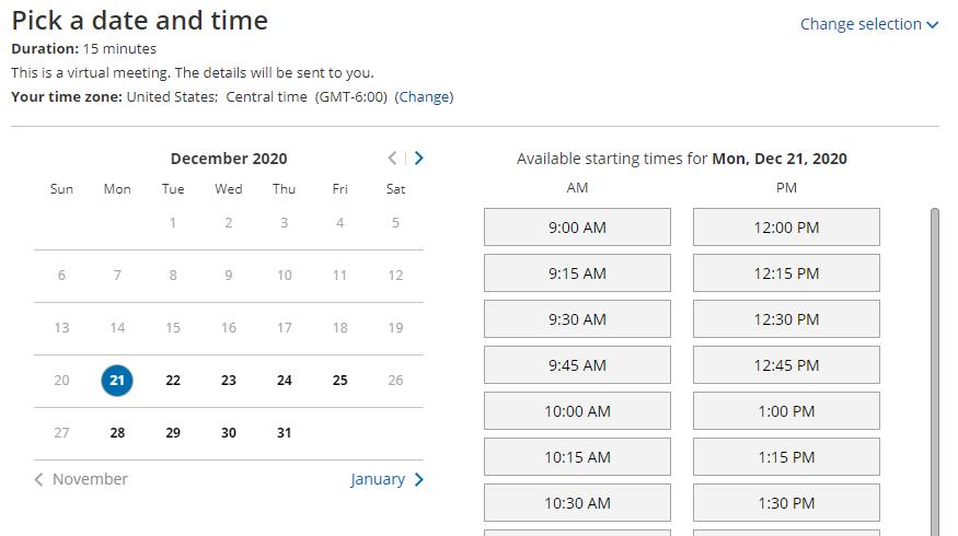 Virtual HVAC Technician Scheduling
