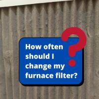 How often should I change my furnace filter?