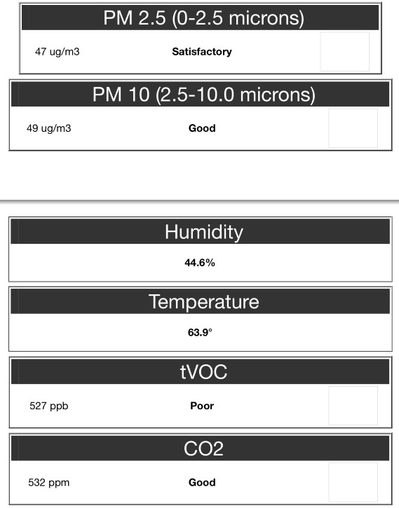 Indoor Air Quality Testing Results Example   G&R Heating and Air - Illinois