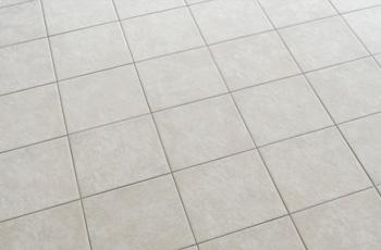 Clean White Tile