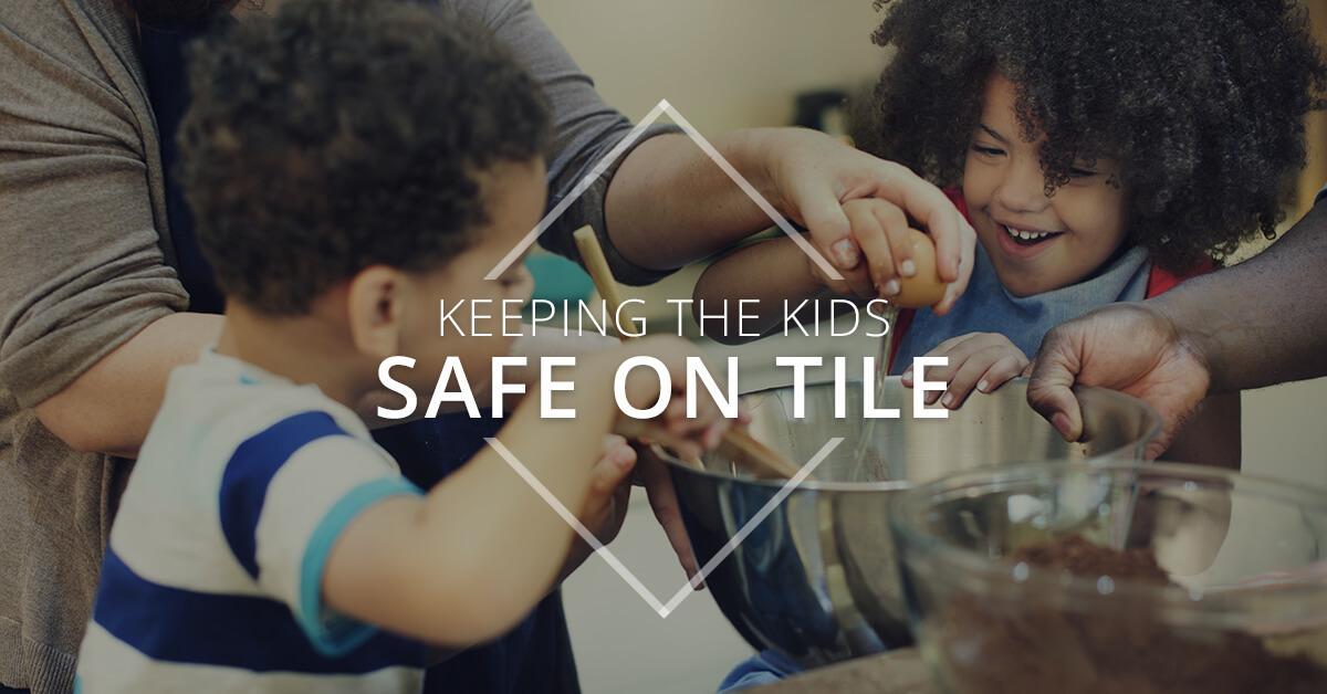 Keeping Kids Safe on Tile Banner