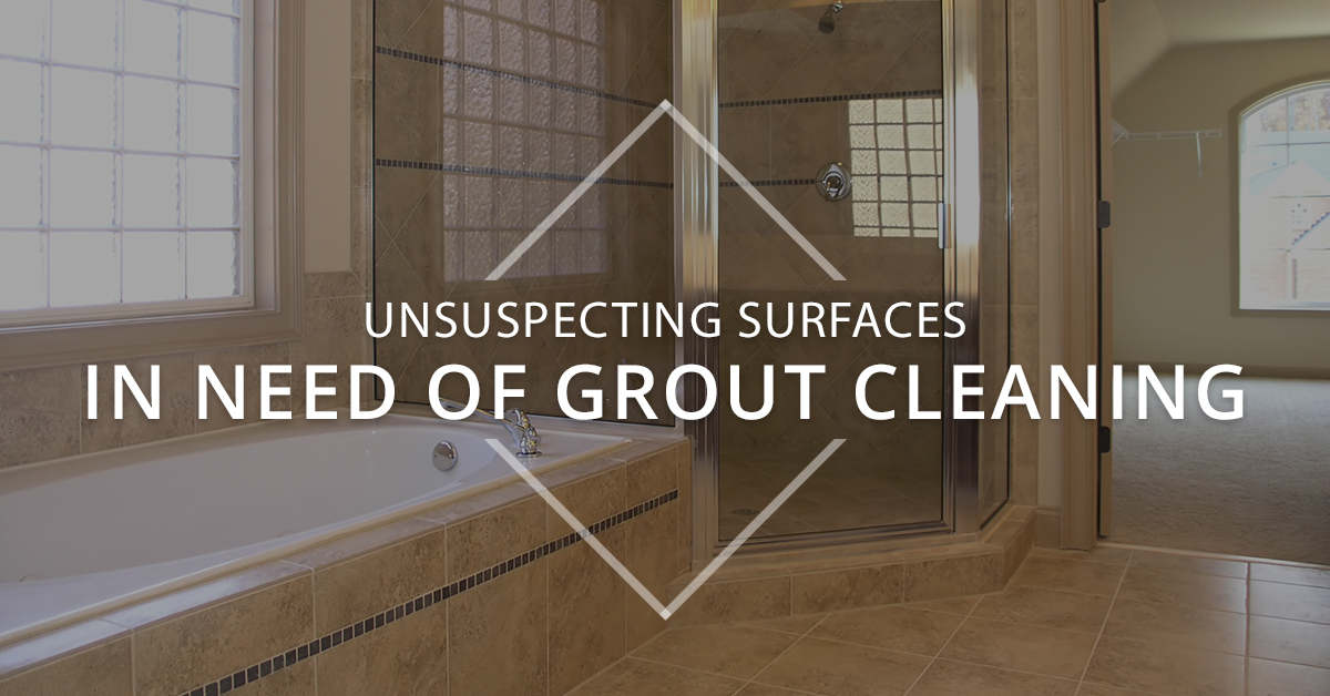 Surfaces in Need of Grout Cleaning