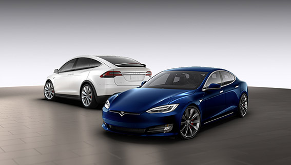 Rent a Tesla Model S in Boston from Green Share Drive Rides