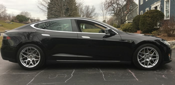 Rent this 2013 Tesla Model S from GSD Rides of Boston.