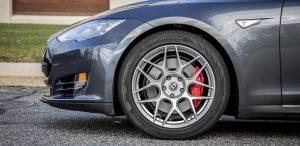 GSD Rides Boston Tesla rental Model S P90D wheel