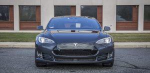 GSD Rides Boston Tesla rental Model S P90D front