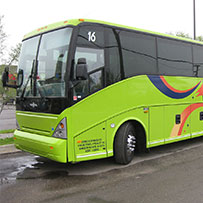 Charter Bus Detroit | Coach Bus MI | Tour Bus - Ground