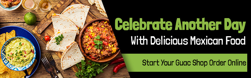 Celebrate with guac shop mexican catering