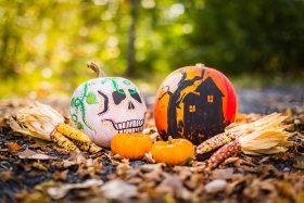 Halloween and Dia De Los Muertos