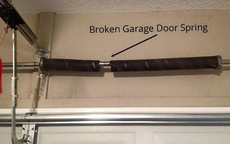 Garage spring repair garage door spring fl torsion for How much does a garage door repair cost