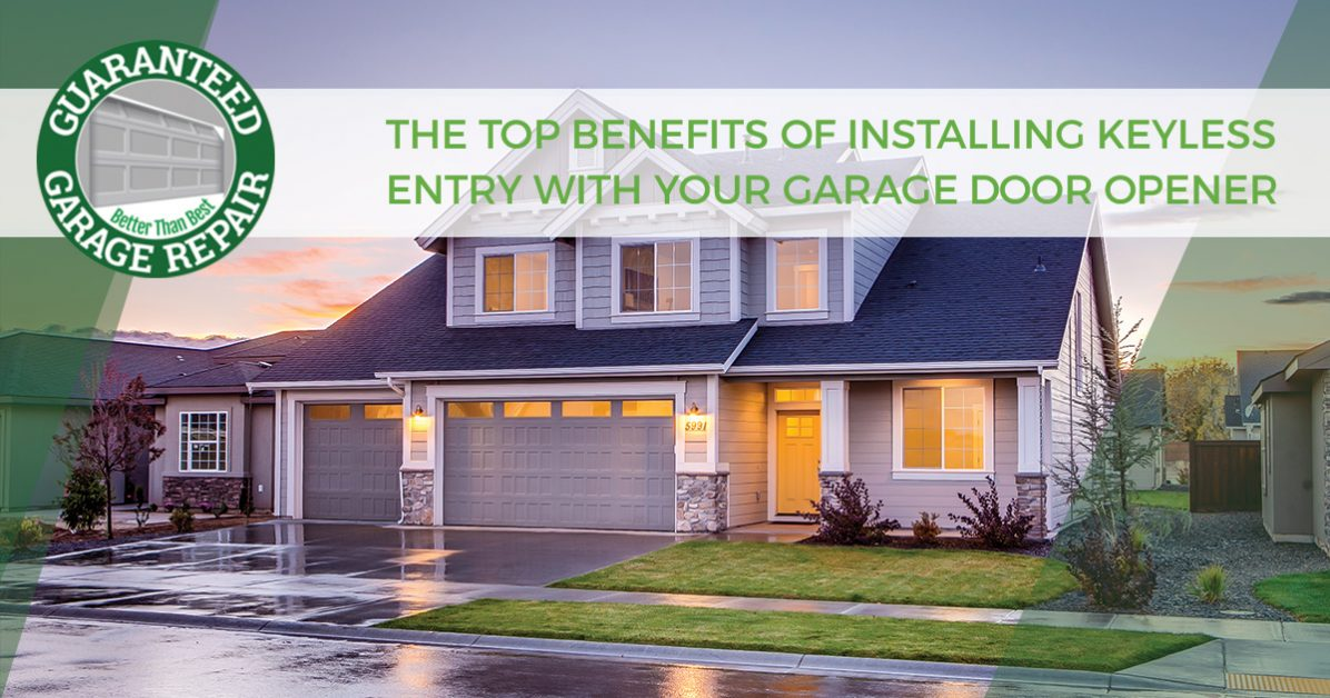 excellent house on top of garage. The Top Benefits Of Installing Keyless Entry With Your Garage Door Opener Port St  Lucie Benefit From Systems