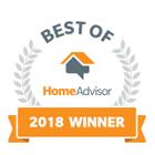 Best of HomeAdvisor 2018 Winner