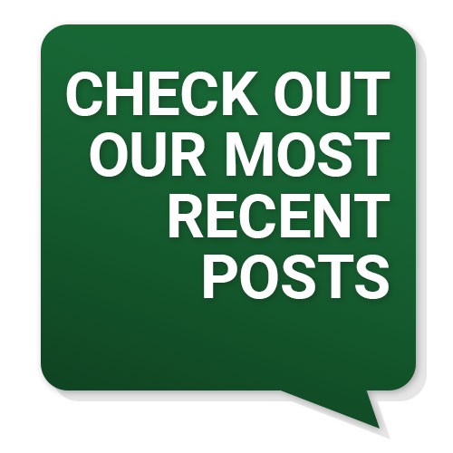 """""""Check Out Our Most Recent Posts"""" badge"""